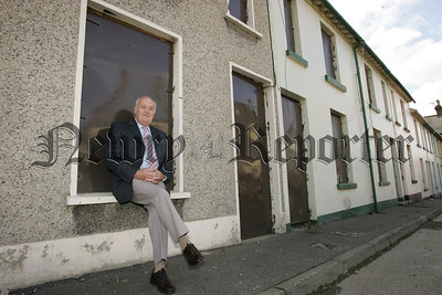 Pictured is John Dalzell a resident of Sinclair Street from 1941 until 1963. Sinclair Street will be demolished as part of teh Canal Street Regeeration Project. Picture Peter Clarke. 07W34N7
