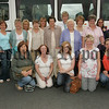 THe sun shone for 19 women representatives from Bessbrook, Burren, Saval, Newry and Warrenpoint, member groups of Newry and Mourne Women LTD as they leave Newry to take part in a weekend Networking residential in Donegal. 07W34N18