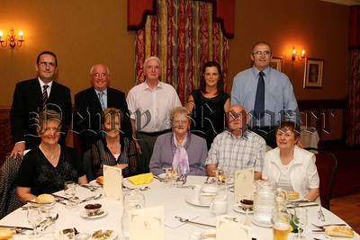 Tony & Ann Carroll, Jacqueline Mc Aleavey, Pat Mc Aleavey, Mark & Bridie Mc Keown, Eddie & Bridie and Bernie and Imelda Hughes, 07W35N54