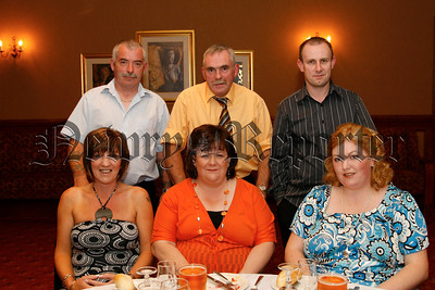 A.O.H. Newry, Annual dinner dance in the Canal Court, Kevin & Marion Mc Givern, Mickey & Geraldine Doran, and Gerry O'Brien & Roisin Mc Givern,07W35N51
