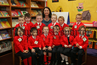 Pictured with their Teacher Mrs C. McAteer are the Primary 1 class at St Joseph's P.S. Newry. 07W37N22