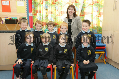 Pictured are the new Primary 1 pupils at Jonesborogh Primary School with their Teacher Mrs Rigney. 07W38N5