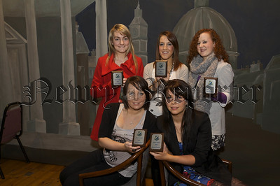 Our Lady's GS Prizegiving. Sports Award Winners.09W52N750