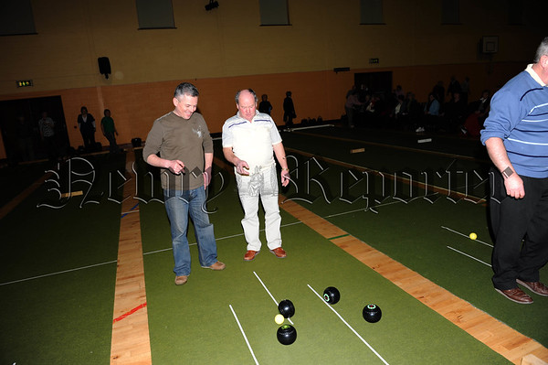 Kevin Murphy Organiser of the South Armagh Zone event with Gerard Loughran 10W01S612