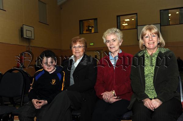Joseph Reel, Pauline Lavelle, Peggy McParland and Vera Mohan 10W01S609