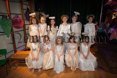 THe Angels who preformed in the School play at St Dallan's PS Warrenpoint. R1650015