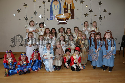 ST PATRICK'S MAYOBRIDGE P1 NATIVITY PLAY