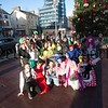 Positive Futures heald a fundraising Bed Push throughout Newry on Thursday last. R1650012