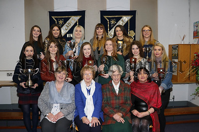 OUR LADY'S GRAMMAR SCHOOL A LEVEL PRIZE GIVING 20TH DECEMBER 2016.