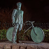 "Patrick Rankin ""A Newry Man, a Family Man, a Lover of Literature, Opera, Gaelic Games & Nature.  Unveiled yesterday in Newry - the Public Artwork in recognition of Patrick Rankin, the only Newry person who quite literally got on his bike and cycled 70 miles to Dublin to take part in the 1916 Easter Rising."