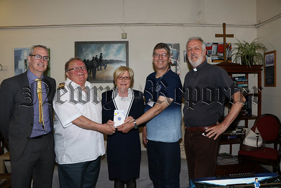 Ladies from Newry Inner Wheel present donation to Seafarers Mission