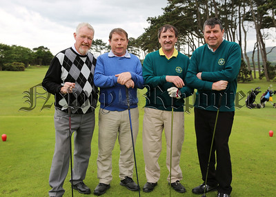 The Philips brothers, John, Donald, Pat and Dermot at the Greenore Golf Classic.