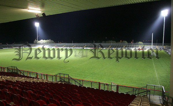 Healy Park was officially lit-up on Monday night