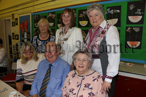 RETIREMENT CELEBRATIONS AT ST MARY'SPRIMARY SCHOOL MULLAGHBAWN