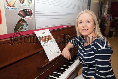 Sharon Byrne Head of Music at St Joseph's HS Newry. R1726002