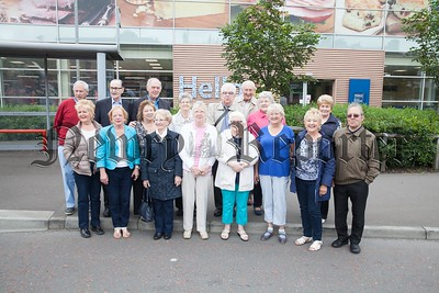 Pictured are the Silver Lights group which meet at the Hall For all on the Downshire road every Fortnight on Tuesdays. The mixed community group play host to a range of activities in the hall and enjoy regular outings. R1725056
