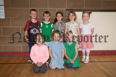 Pictured at the Bosco Irish Summer school held in Whitegates are Fluent Speakers Class 1. R1730001