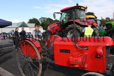 LISSUMMON TRACTOR RUN FOR MARIE CURIE