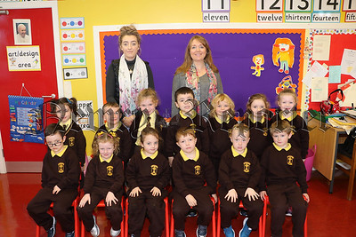 PRIMARY 1 CLASS AT ST MALACHY'S PS CAMLOUGH