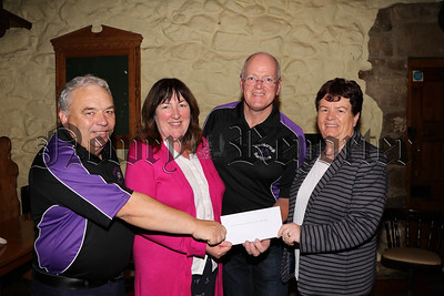 JONESBOROUGH CHARITY CYCLE PRESENTS CHEQUES TO CHARITIES