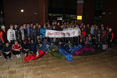 ABBEY STUDENTS 2ND ANNUAL SLEEP OUT