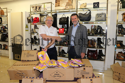 CAHILL BROS DONATE FLIP FLOPS TO THE SALVATION ARMY