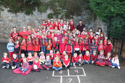 RED DAY AT BUNSCOIL an LÚIR