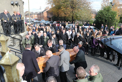 FUNERAL OF OLIVER MCCAUL