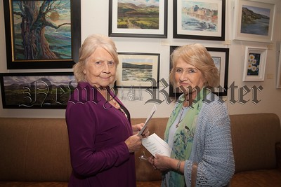Artists Elizabeth Leinster-Holt and Dympna Kenny. R1744002