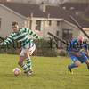 Craig Roebuck (Newry Celtic) and Neil Kelly (Finn Harps). RS1747012