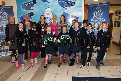 ST. DALLANS PRIMARY SCHOOL SUPPORTING ANTI-BULLYING WEEK WITH A DIFFERENCE