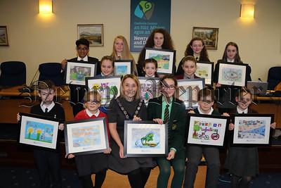 SCHOOL'S ENVIRONMENTAL CALENDAR POSTER COMPETITION WINNERS