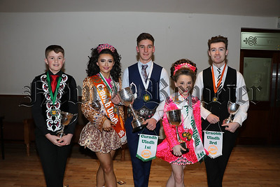 CELEBRATING SUCCESS AT THE ULSTER CHAMPIONSHIPS IN BELFAST