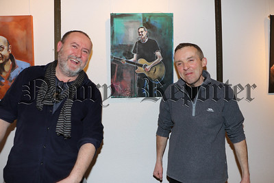 PAINTED IN STONE AN EXHIBITION BY JOE LEIGH-CORRIGAN IN ASSOCATION WITH GOOD CRAIC