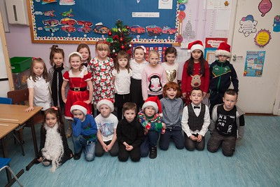 Rang a Tri from Bunscoil and Luir who preformed in the Christmas Show. R1751010