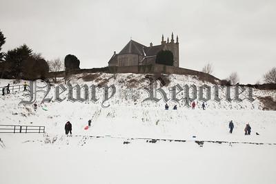 Fun in the snow at Kilmory Park. R1810002