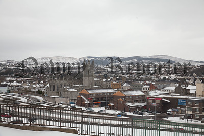 Newry was bathed in Snow from Wednesday on. R1810017
