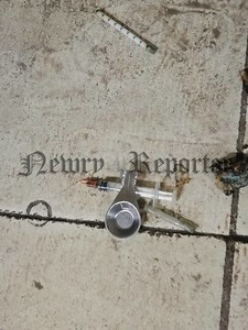 R1811110 heroin needle