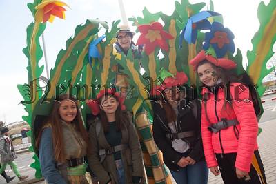 Niamh McMillan, Ciara Fitzsimmons, Aoife Kearney, Aimee Murdock and Rhinna Rooney. R1812009