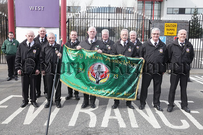 Members of Newry Felons before the start of the Easter Commemeration. R1814011