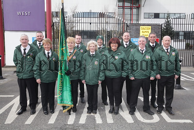 Members of Newry Felons before the start of the Easter Commemeration. R1814010