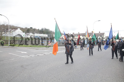 The Parade makes its way on Patrick Street. R1814021