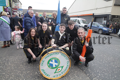 Some members of the Volunteer Martin Doherty Band from Glasgow. R1814018