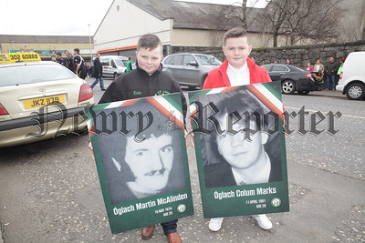 Eoin Finnegan and Pearse Doherty. R1814020