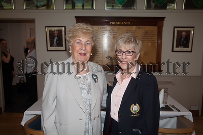 Lady President Joan Pollard is pictured with Maura Reilly. R1815010