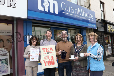 LAUNCH OF CUAN MHUIRE ANNUAL COFFEE MORNING ON SAT 28TH APRIL 2018.
