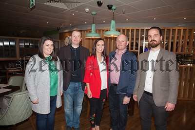 Gemma and Brendan Tinnelly, Edward and Elaine McMahon and David O'Gorman. R1818002