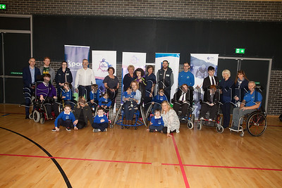 Through the District Council Disability Sports Hub Project, Disability Sports NI will be supporting the development of sustainable sports clubs including Wheelchair Basketball, Goalball and multi skills within each hub. The Disability sports hub take place in Newry Leisure Centre for further information contact ciara.lowe@nmandd.org. R1816003