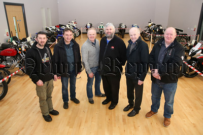 Members and friends of Rathfriland Motorcycle Club pictured at the show in January 2017.   Picture: Philip Magowan