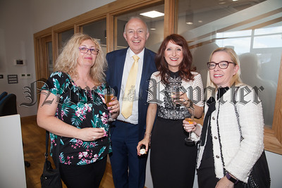Grainne Thompson, John Speer, Sinead McAllister and Kerona Hasson. R1826006